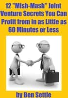 "12 ""Mish-Mash"" Joint Venture Secrets You Can Profit From In As Little As 60 Minutes Or Less ebook by Ben Settle"