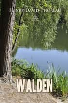 Walden ebook by Henry Thoreau