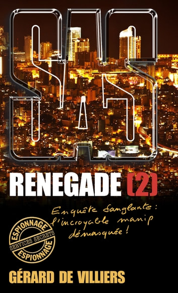 SAS 184 Renegade T2 ebook by Gérard de Villiers