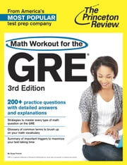 Math Workout for the GRE, 3rd Edition ebook by Princeton Review