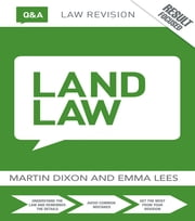 Q&A Land Law ebook by Martin Dixon,Emma Lees