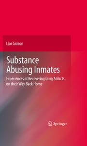 Substance Abusing Inmates - Experiences of Recovering Drug Addicts on their Way Back Home ebook by Lior Gideon