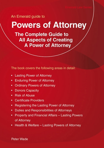 Powers Of Attorney ebook by Peter Wade