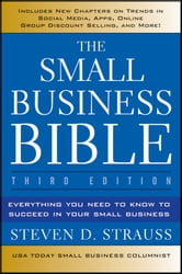 The Small Business Bible - Everything You Need to Know to Succeed in Your Small Business ebook by Steven D. Strauss