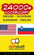 24000+ Vocabulary English - Slovenian ebook by