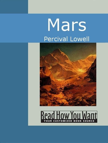 Mars ebook by Lowell,Percival