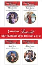 Harlequin Presents - September 2019 - Box Set 2 of 2 ebook by Annie West, Julia James, Bella Frances,...
