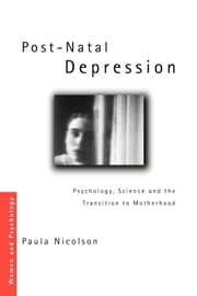Post-Natal Depression ebook by Nicolson, Paula