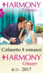 Cofanetto 8 Harmony Collezione n11/2017 eBook by Carol Marinelli, Caitlin Crews, Jennie Lucas,...