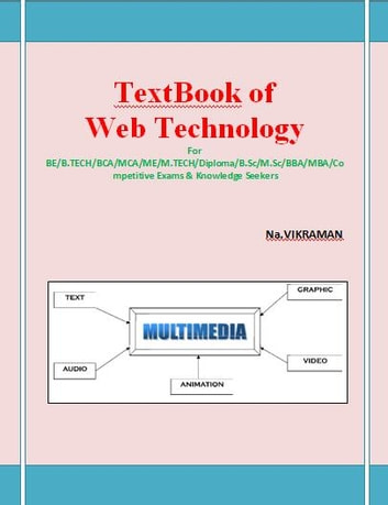 Text Book of Web Technology: For BE/B.TECH/BCA/MCA/ M.TECH/Diploma/B.Sc/M.Sc/MA/ BA/Competitive Exams & Knowledge Seekers (Nonfiction) photo