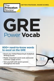 GRE Power Vocab ebook by Princeton Review