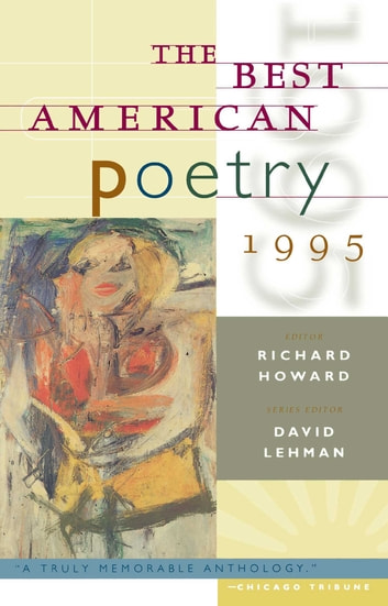 The Best American Poetry 1995 ebook by Richard Howard