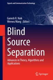 Blind Source Separation - Advances in Theory, Algorithms and Applications ebook by Ganesh R. Naik,Wenwu Wang