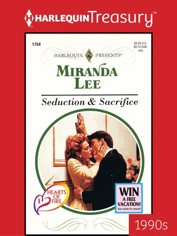 Seduction Sacrifice Ebook De Miranda Lee 9781459284708 Rakuten