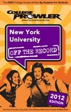 New York University 2012 ebook by Rachel Northrop