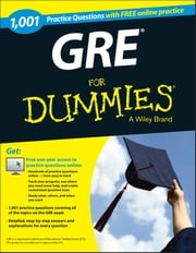 1,001 GRE Practice Questions For Dummies (+ Free Online Practice) ebook by Consumer Dummies