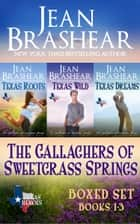 The Gallaghers of Sweetgrass Springs Boxed Set One - Sweetgrass Springs Books 1-3 ebook by Jean Brashear