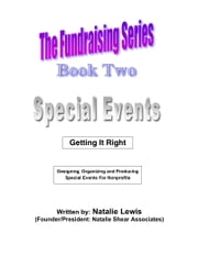 The Fundraising Series: Book 2 - Special Events ebook by Natalie Lewis