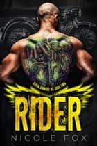 Rider (Book 2) - Seven Sinners MC, #2 ebook by