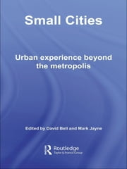 Small Cities - Urban Experience Beyond the Metropolis ebook by David Bell,Mark Jayne