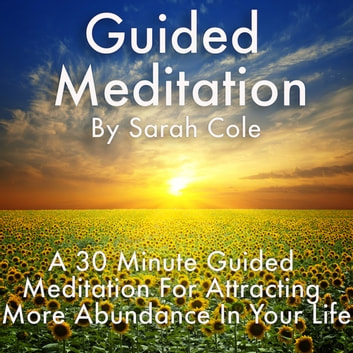 Guided Meditation: A 30 Minute Guided Meditation For Attracting More Abundance In Your Life audiobook by Sarah Cole