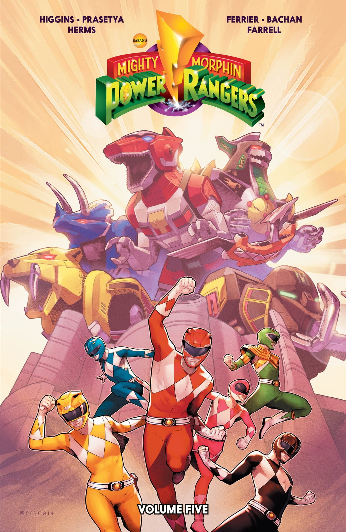 Visit My Store Mighty Morphin Power Rangers #4 Comic Book