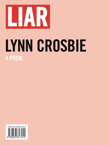 Liar ebook by Lynn Crosbie