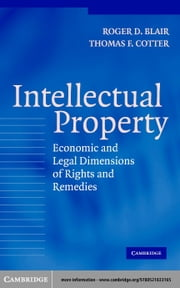 Intellectual Property ebook by Blair, Roger D.