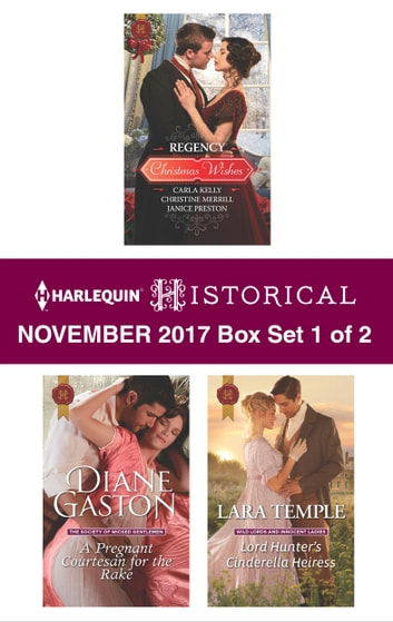 Harlequin Historical November 2017 - Box Set 1 of 2 - An Anthology ebook by Diane Gaston,Lara Temple