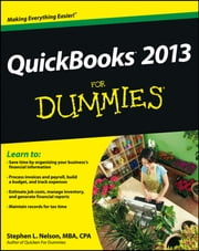 QuickBooks 2013 For Dummies ebook by Stephen L. Nelson