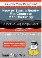 How to Start a Ready-Mix Concrete Manufacturing Business ebook by Shenna Nealy
