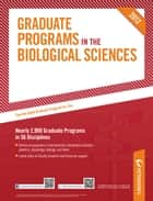 Peterson's Graduate Programs in the Biological Sciences 2012 ebook by Peterson's