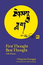 First Thought Best Thought ebook by Chogyam Trungpa