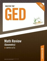 Master the GED: Math Review--Geometry: Chapter 14 of 16 ebook by Peterson's