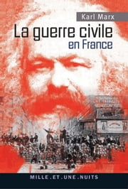 La guerre civile en France ebook by Karl Marx