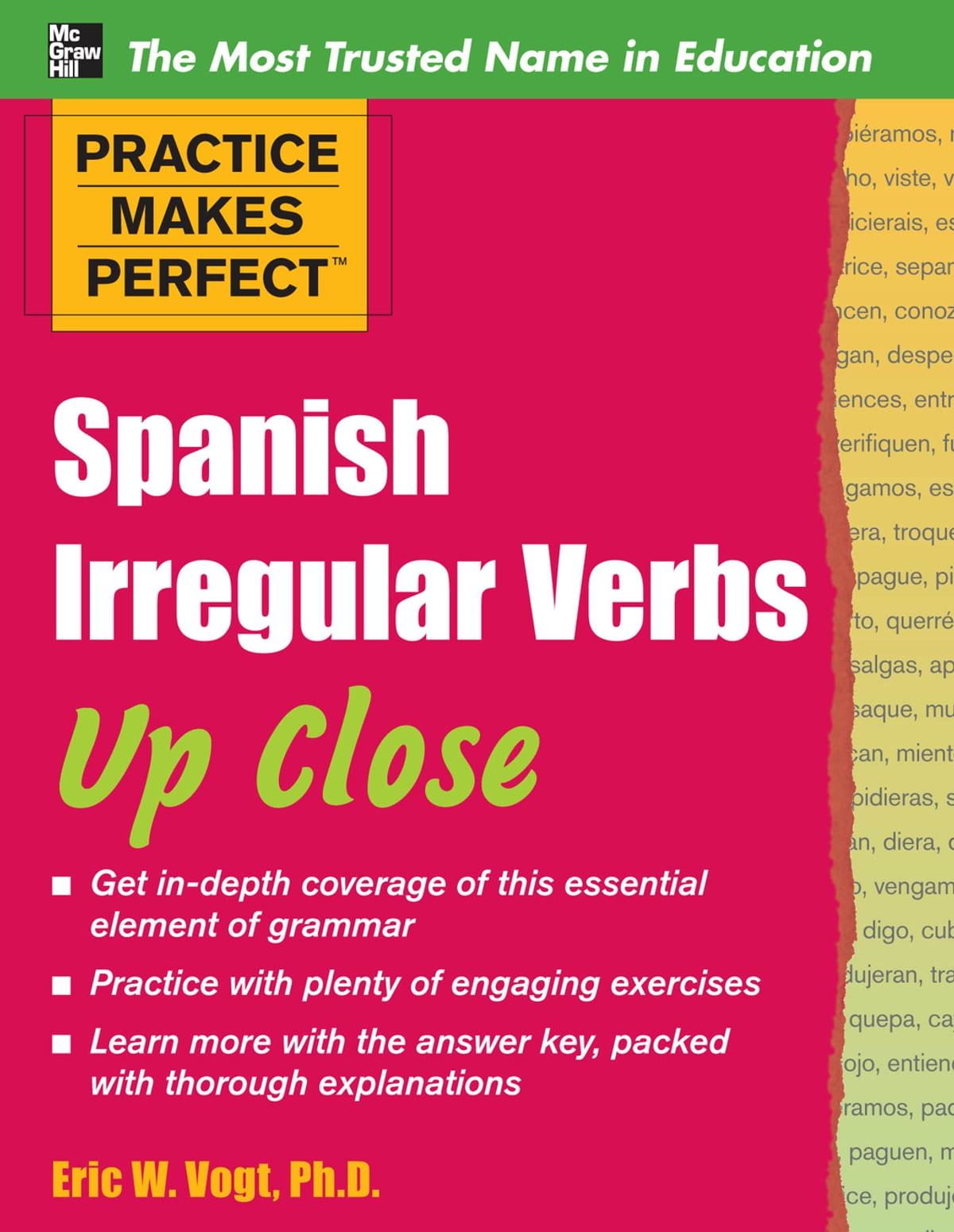 Practice Makes Perfect: Spanish Irregular Verbs Up Close eBook by ...