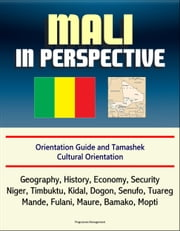 Mali in Perspective: Orientation Guide and Tamashek Cultural Orientation: Geography, History, Economy, Security, Niger, Timbuktu, Kidal, Dogon, Senufo, Tuareg, Mande, Fulani, Maure, Bamako, Mopti ebook by Progressive Management