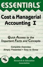 Cost & Managerial Accounting I Essentials ebook by William Keller