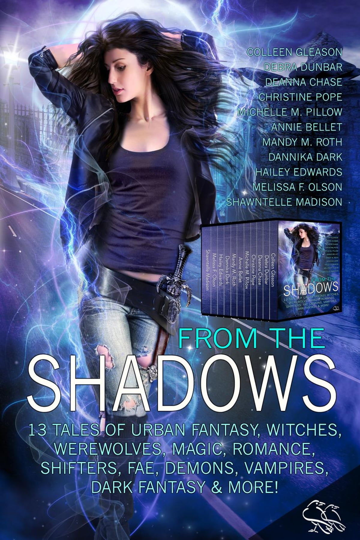From The Shadows: 13 Tales Of Urban Fantasy, Witches, Werewolves, Magic,  Romance, Shifters, Fae, Demons, Vampires, Dark Fantasy & More! Ebook By  Mandy M