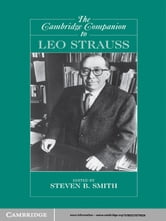 The Cambridge Companion to Leo Strauss ebook by
