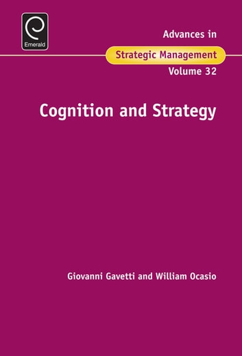 Cognition & Strategy ebook by