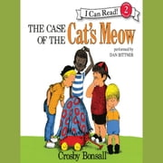 The Case of the Cat's Meow audiobook by Crosby Bonsall
