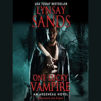 One Lucky Vampire Audiobook By Lynsay Sands 9780062113115