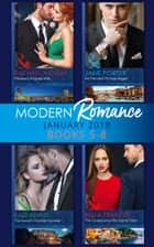 Modern Romance Collection: January Books 5 - 8: Martinez's Pregnant Wife / His Merciless Marriage Bargain / The Innocent's One-Night Surrender / The Consequence She Cannot Deny (Mills & Boon e-Book Collections) ekitaplar by Rachael Thomas, Jane Porter, Kate Hewitt,...
