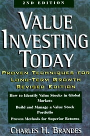 Value Investing Today ebook by Brandes, Charles