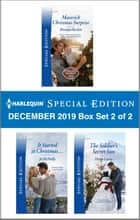 Harlequin Special Edition December 2019 - Box Set 2 of 2 ebook by Brenda Harlen, Jo McNally, Helen Lacey