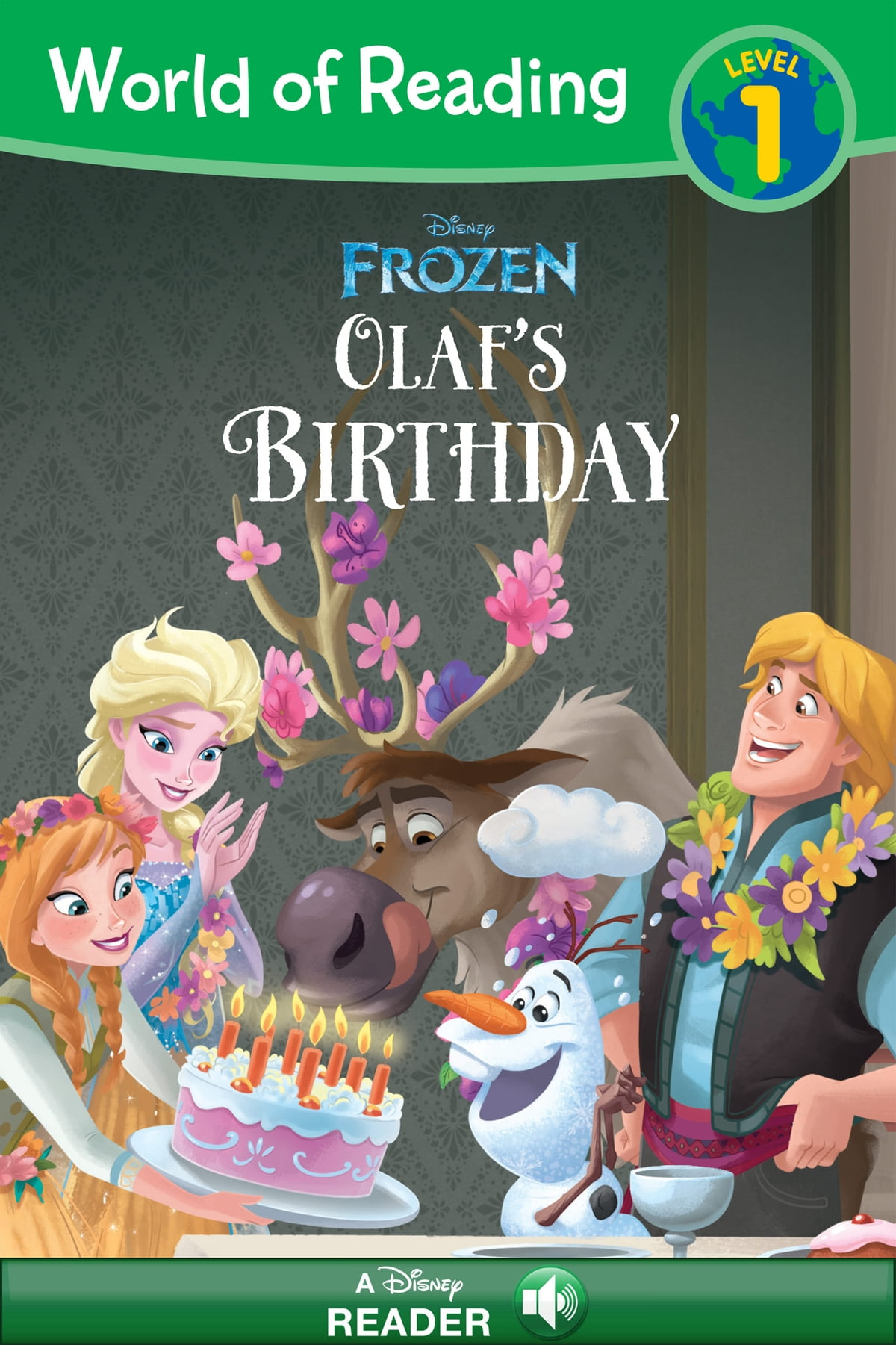 All about Frozen Olafs Night Before Christmas Book Amp Cd Disney ...