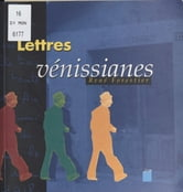 Lettres vénissianes ebook by René Forestier