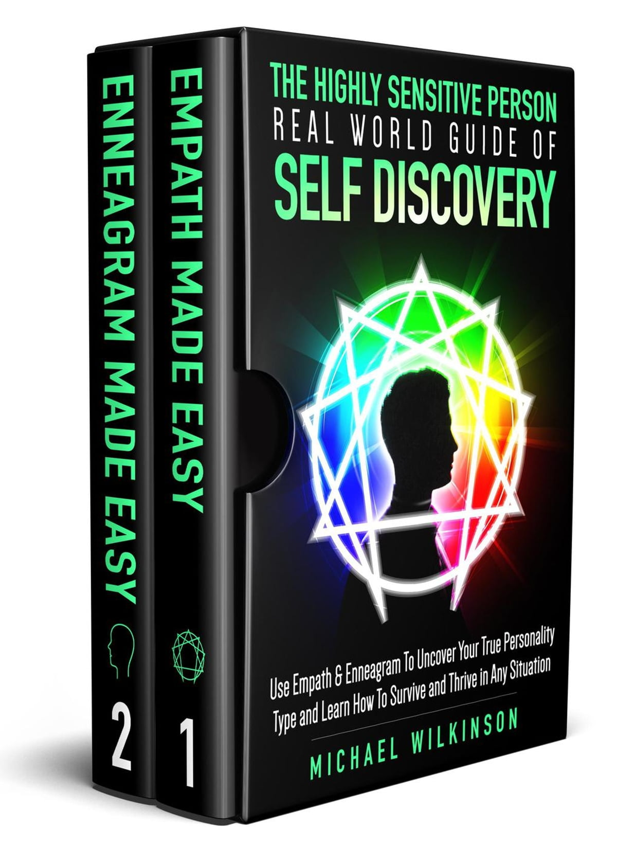 The Highly Sensitive Person Real World Guide of Self Discovery 2 in 1 Use  Empath & Enneagram To Uncover Your True Personality Type and Learn How To
