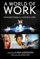 A World of Work - Imagined Manuals for Real Jobs ebook by Ilana Gershon, Jean Lave